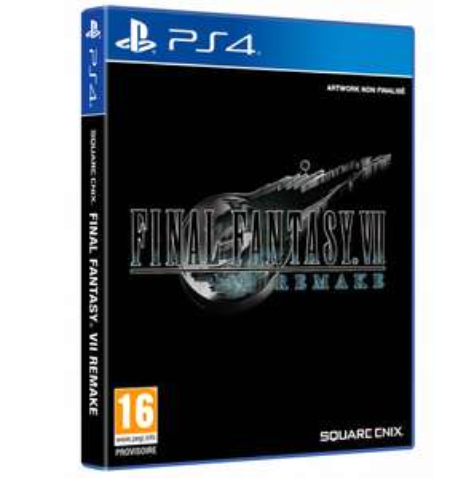 [Précommande] Final Fantasy VII: Remake sur PS4
