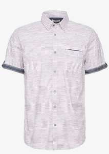 Chemise Tom Tailor Ray Blurry - Bordeaux, tailles M & 3XL