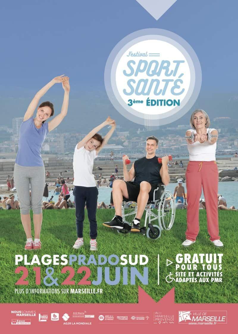 [Festival Sport Santé] Sélection d'activités sportives terrestres et nautiques gratuites - Marseille Parc Balnéaire du Prado (13)