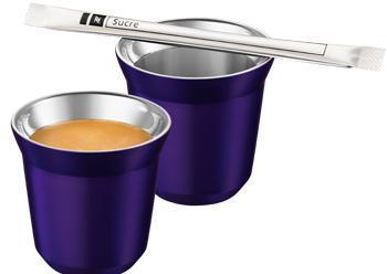 2  tasses Arpeggio offertes dès 300 capsules Nespresso achetées