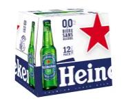 Pack de 6 bières sans alcool Heineken - 6x25 cl (via BDR + Quoty)