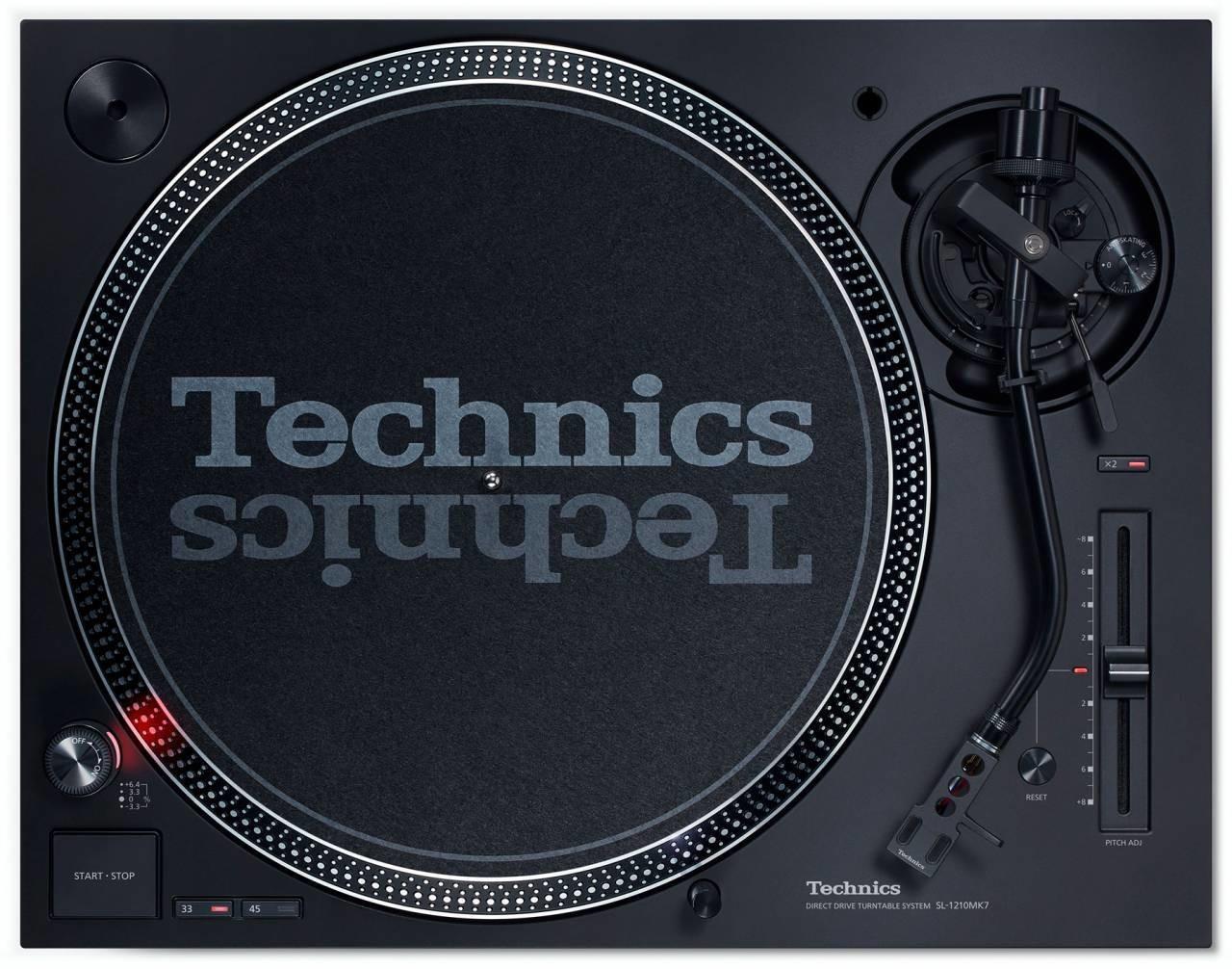 Platine vinyle DJ Technics SL-1210MK7 - RecordCase.de