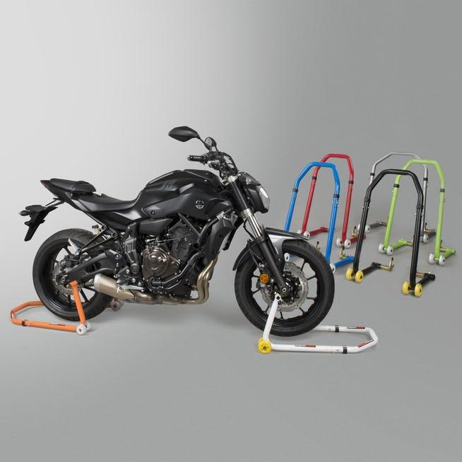 Béquille d'atelier moto 2-in-1 Proworks - Avant/Arrière