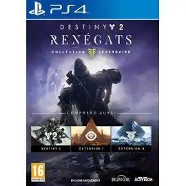 Destiny 2 Rénégats : Edition Légendaire sur PS4 + 0,75€ en Super Points
