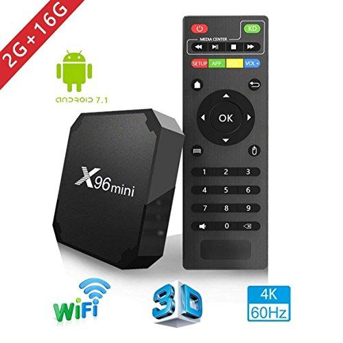 Box TV X96mini - Android 7.1.2, 2Go RAM + 16Go ROM (Vendeur tiers)
