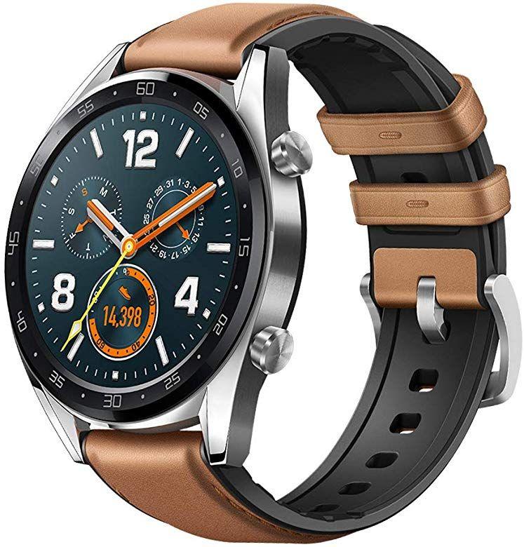 Montre connectée Smartwatch Huawei GT - Marron