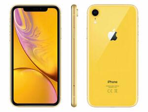 "Smartphone 6.1"" Apple iPhone Xr - full HD, A12, 3 Go de RAM, 128 Go, Jaune"