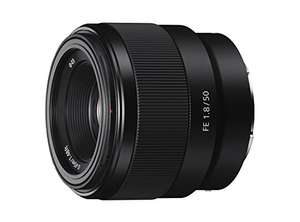 Objectif Sony SEL 50-F18F 50 mm, Ouverture F1.8