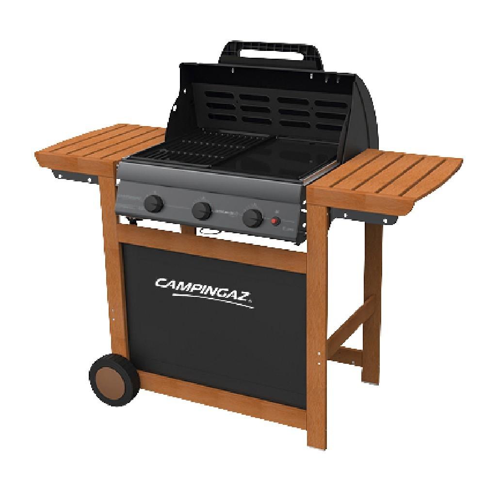 Barbecue au Gaz Campingaz Adelaide 3 Woody L - 3 Brûleurs