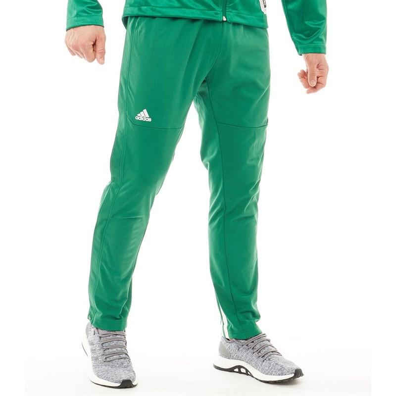 Pantalon d'Entraînement adidas Ekit Snap Basketball - Vert Foncé