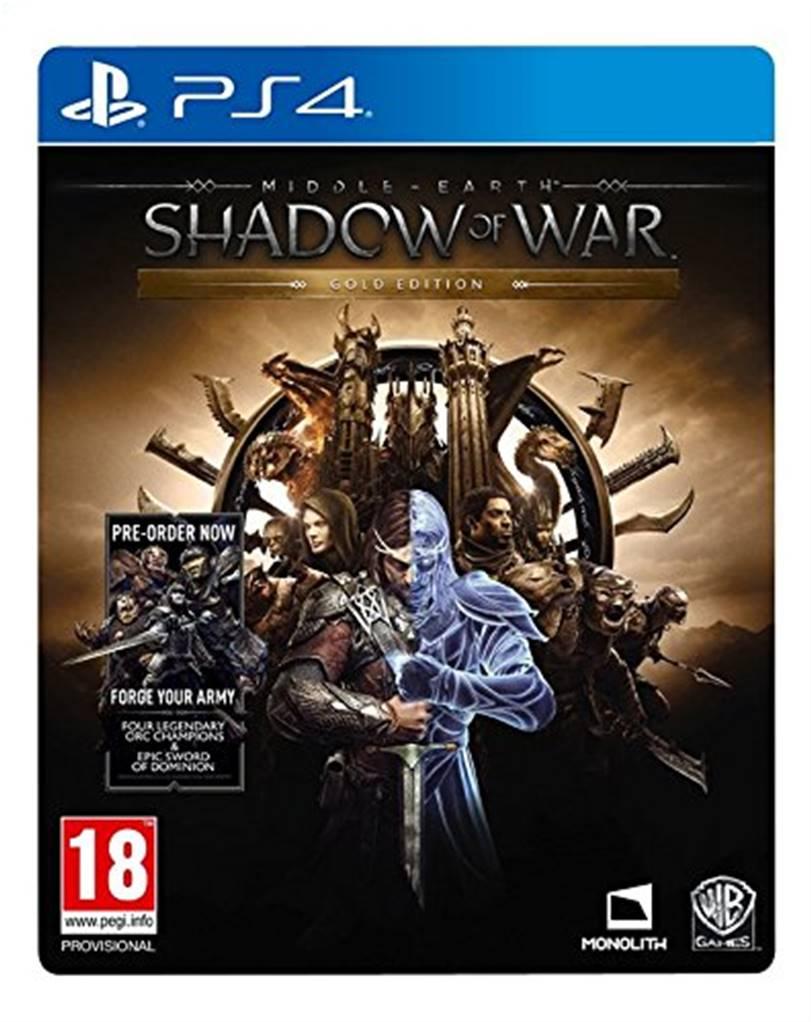Sélection de jeux en promotion - Ex: Jeu L'ombre de la Guerre sur PS4 - Gold Edition