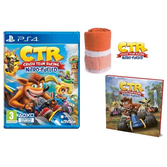 Crash Bandicoot Team Racing Nitro Fueled sur PS4 ou Xbox One + Serviette de plage et Livre L'histoire de Crash Team Racing offerts
