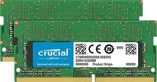 Kit Mémoire pour Mac Crucial CT2C16G4S24AM - 32Go (16Gox2), DDR4