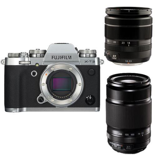 10% de remise sur une sélection Photo et Drone - Ex : Hybride Fujifilm X-T3 + Objectifs 18-55mm f/2.8-4 & 55-200mm f/3.5-4.8 (Via ODR 200€)