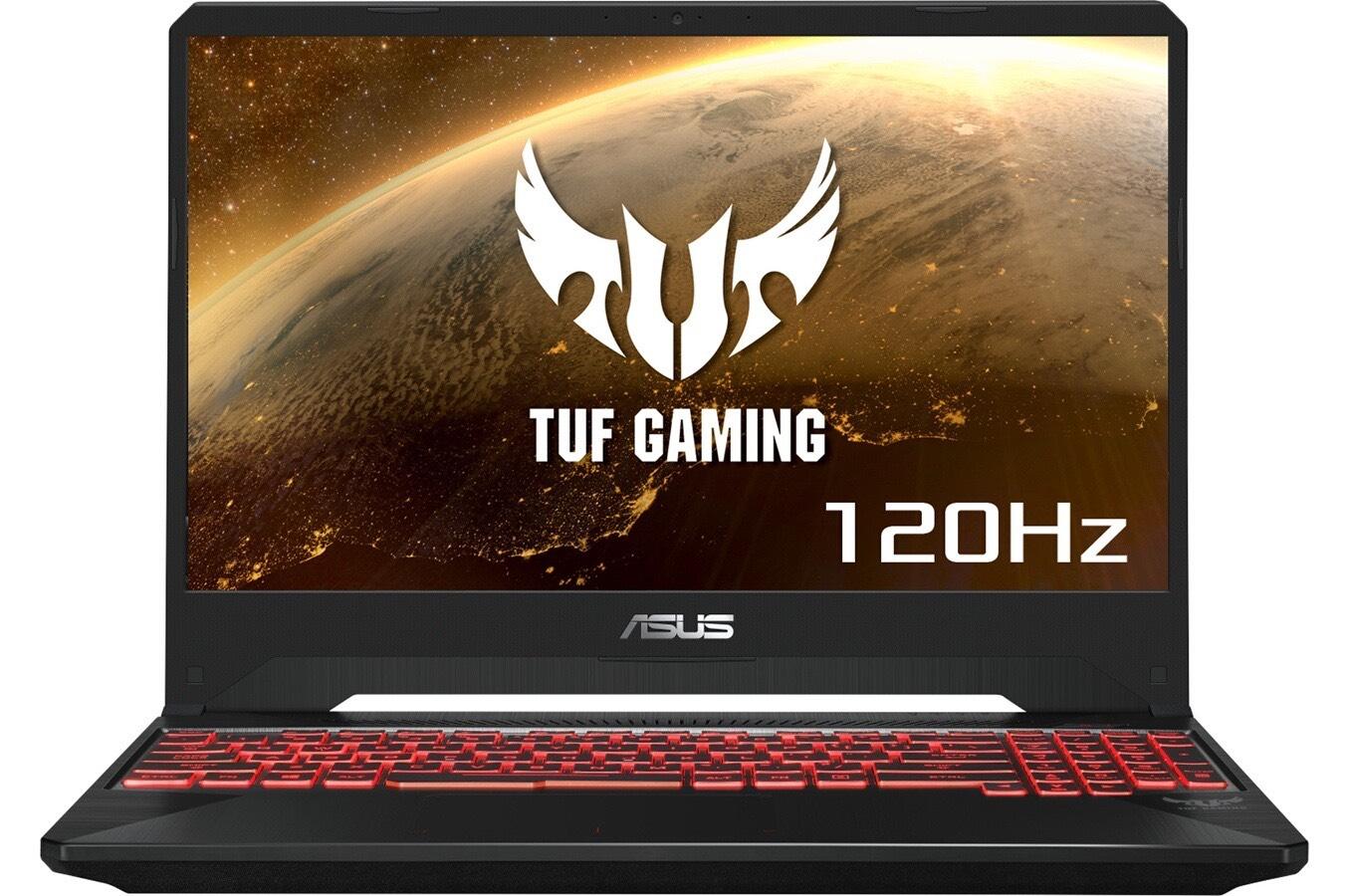 """PC Portable Gamer 15.6"""" Asus TUF505DD-AL042T - Full HD, AMD Ryzen R5-3550H, RAM 8 Go - 1 To HDD + 128 Go SSD"""