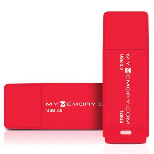 Clé USB 3.0 MyMemory - 128 Go à 11.17€ (20.12€ les 2) et 256 Go à 22.36€ (42.48€ les 2)