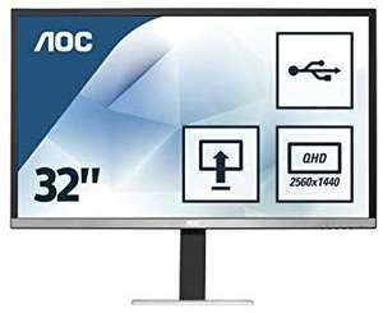 """Ecran PC 32"""" AOC Q3277PQU - 4 ms, 2560 x 1440, QHD"""