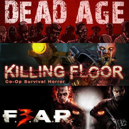 Horror Bundle: Killing Floor + Dead Age + F.E.A.R. 3 sur PC (Dématérialisé - Steam)