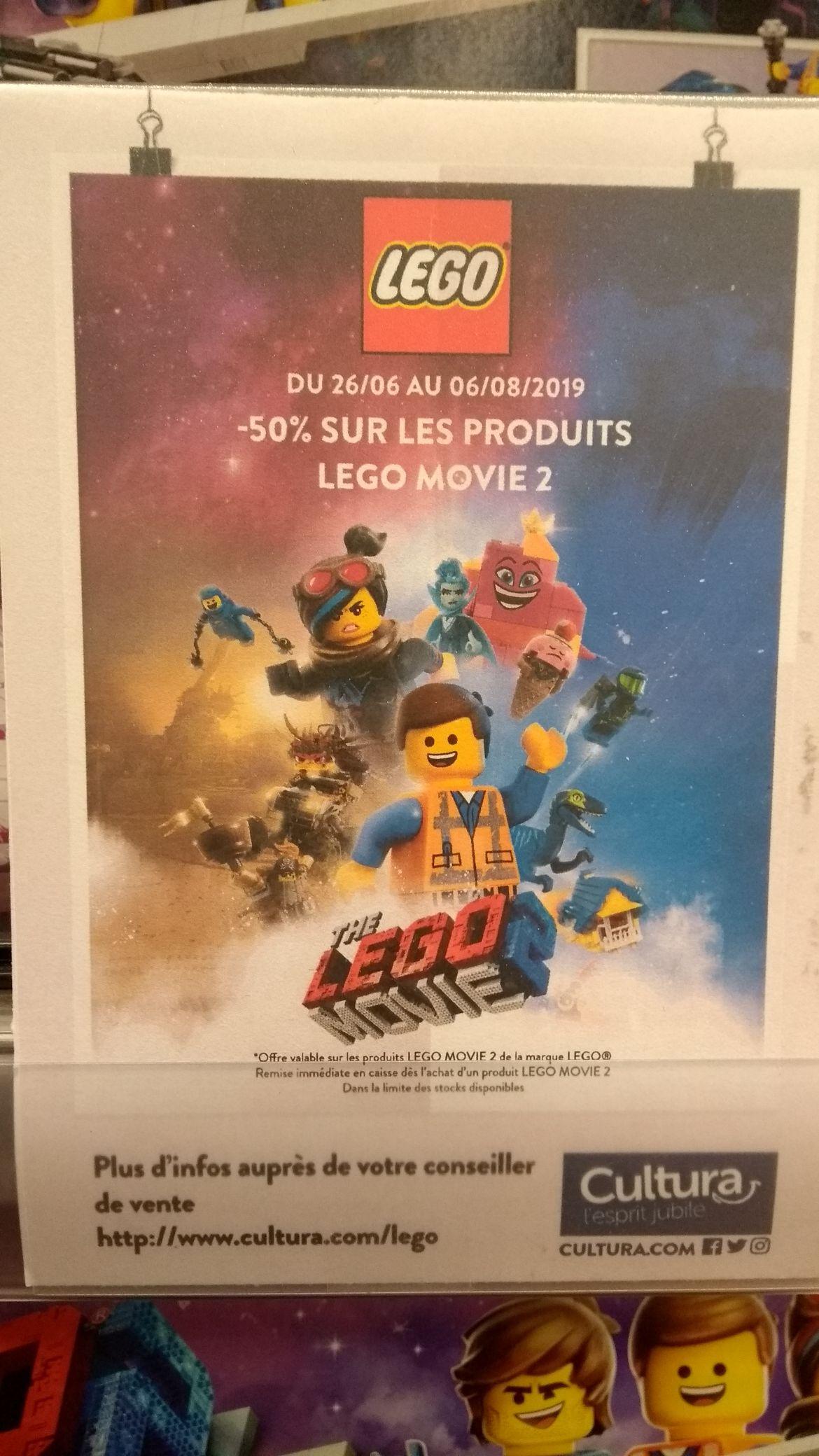 50% de réduction sur les produits Lego Movie 2 - Fenouillet (31)