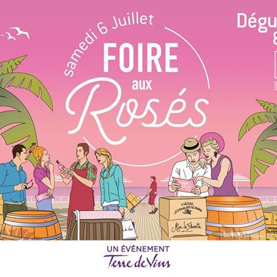 Invitation pour 2 personnes à la Foire aux rosés - Bordeaux (33)