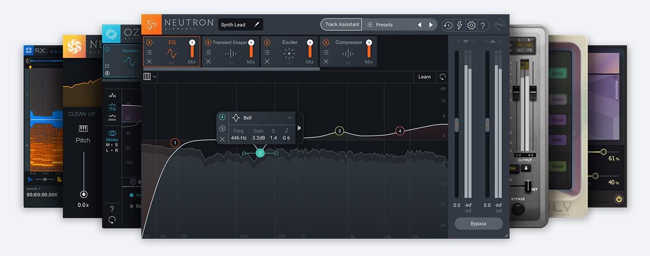 Bundle de plug-in audio iZotope Music Essentials sur PC (Dématérialisé - izotope.com)