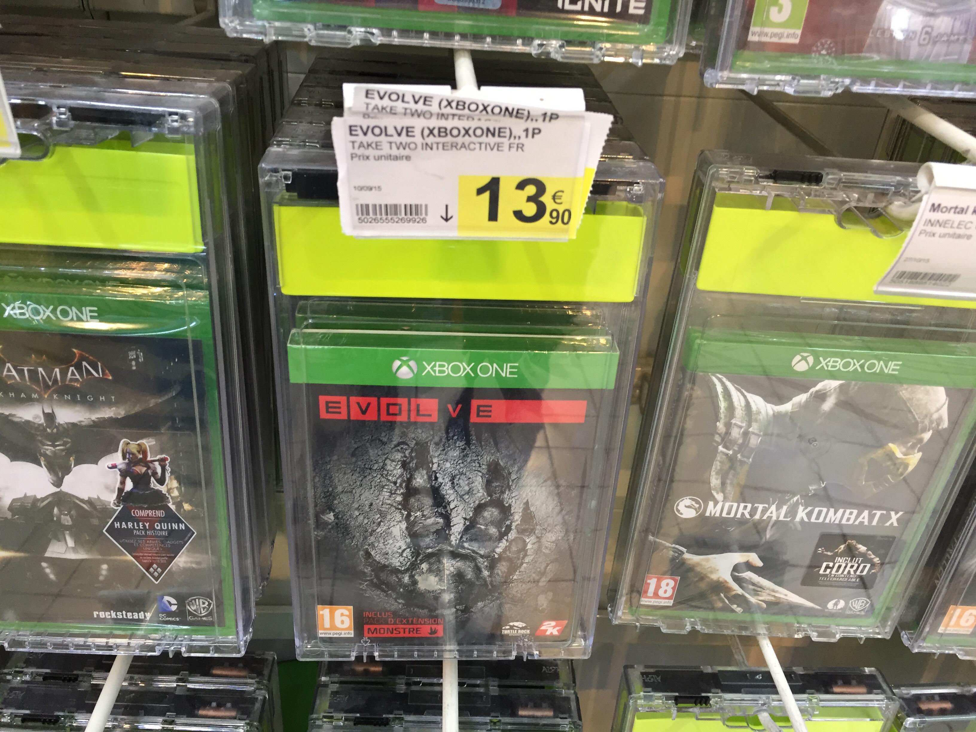 Jeu Evolve sur PS4 / Xbox One