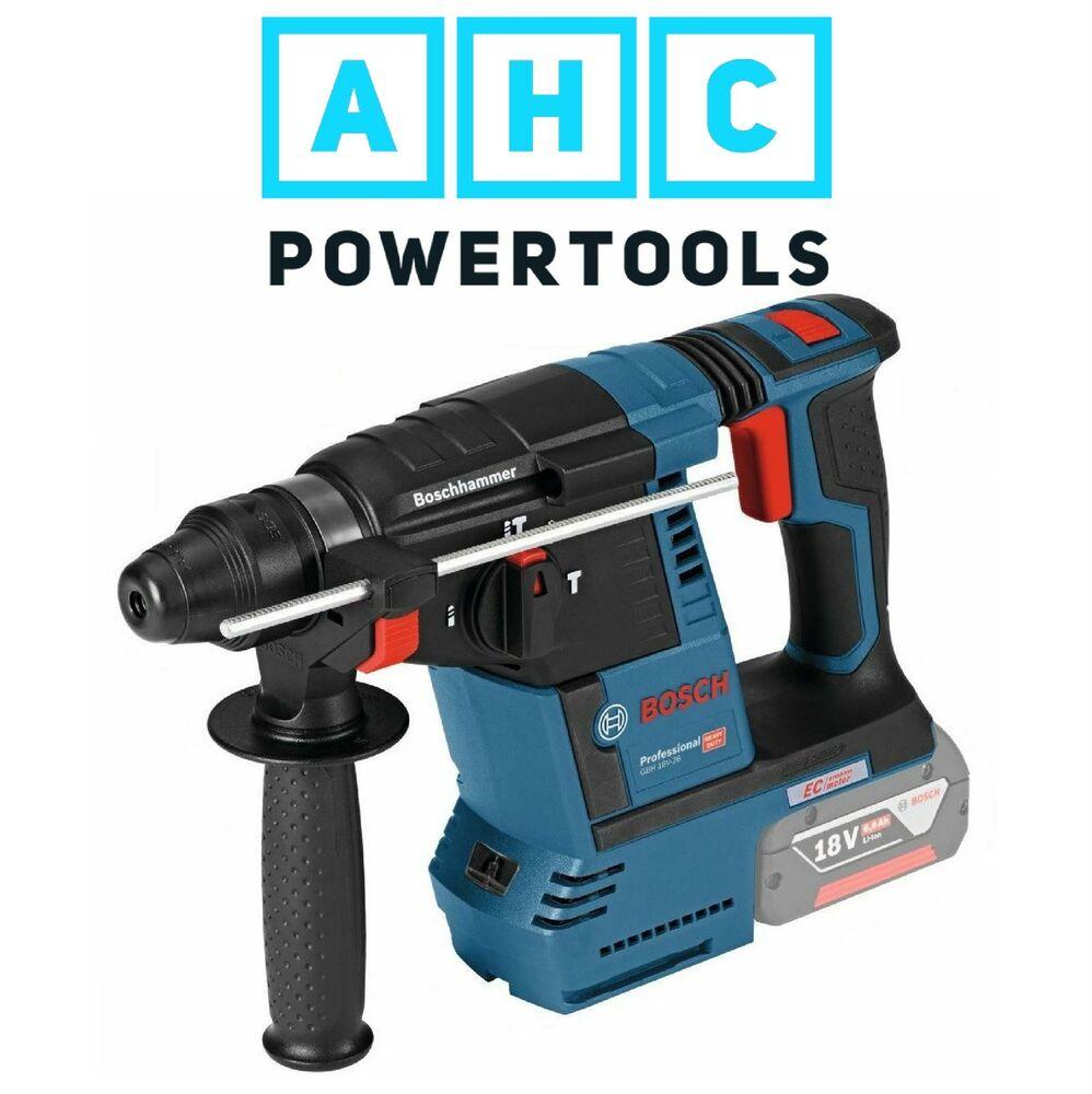 Perforateur Burineur Sans-fil SDS+ Bosch Professional GBH 18V-26 F (Sans batterie)