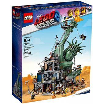 Jeu de construction Lego Apocalypse Ville The Lego Movie 2 n°70840
