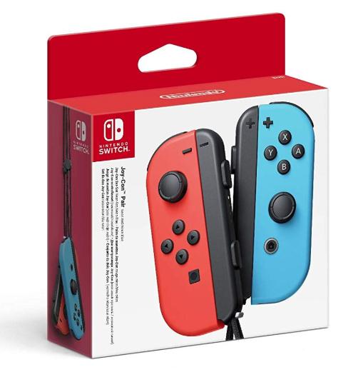 Paire de manettes Joy-Con bleu/rouge pour Nintendo Switch