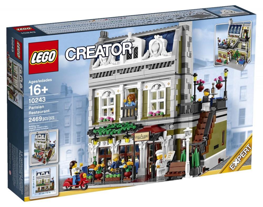 Jeu de Construction Lego Creator Expert : Le restaurant parisien n°10243