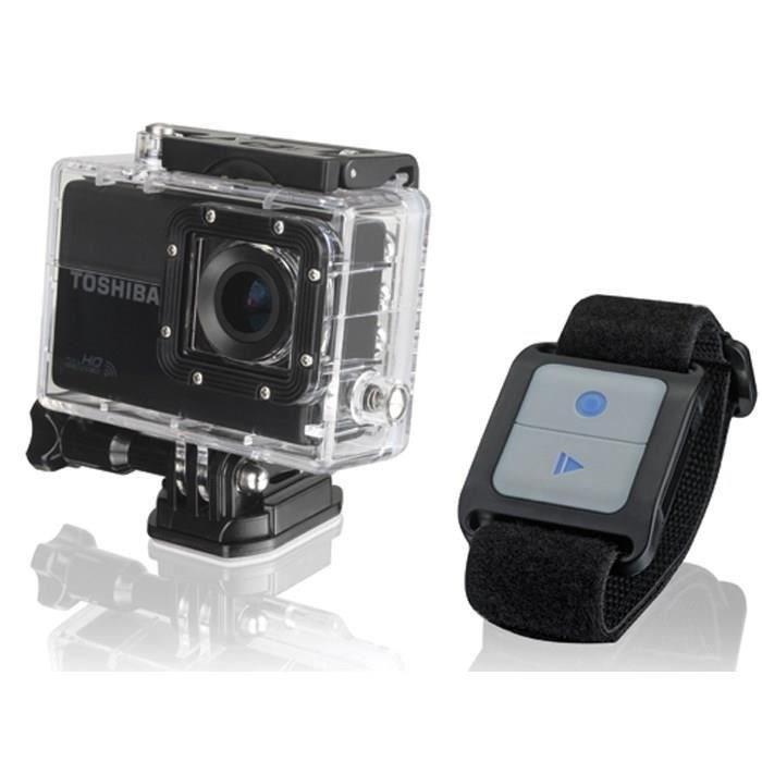 Caméra Sportive Toshiba  Camileo (Tosh-Xsport-Cam) + télécommande incluse