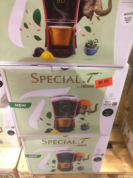 Machine à thé Nestlé Special T -  Coop Crissier (Frontaliers Suisse)