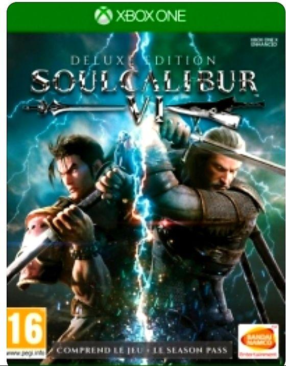 Jeu Soulcalibur VI - Deluxe Edition sur Xbox One