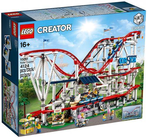Jeu de construction Lego Creator (10261) - Les montagnes russes