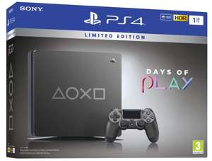 Console PS4 Slim Édition Limitée Days Of Play - 1 To