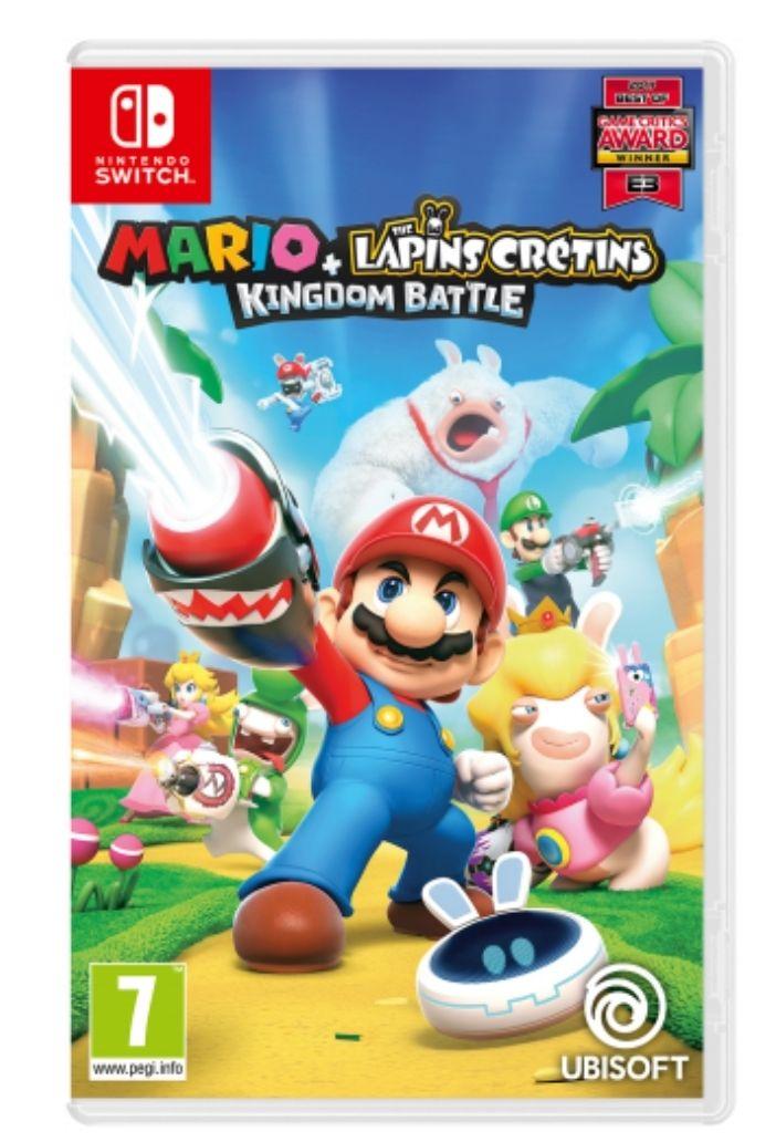 Mario + The Lapins Crétins: Kingdom Battle sur Nintendo Switch