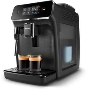 Machine Espresso automatique Philips EP2220/10 Séries 2200 - Mousseur à Lait, Noir