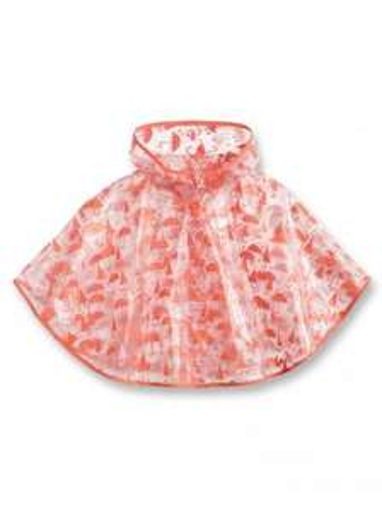 Jusqu'à 70% de réduction sur une sélection de vêtements et accessoires - Ex : Poncho coupe-vent imprimé pour fille