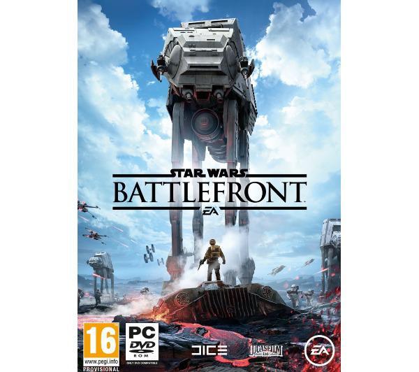 Star Wars Battlefront sur PC (version boîte)