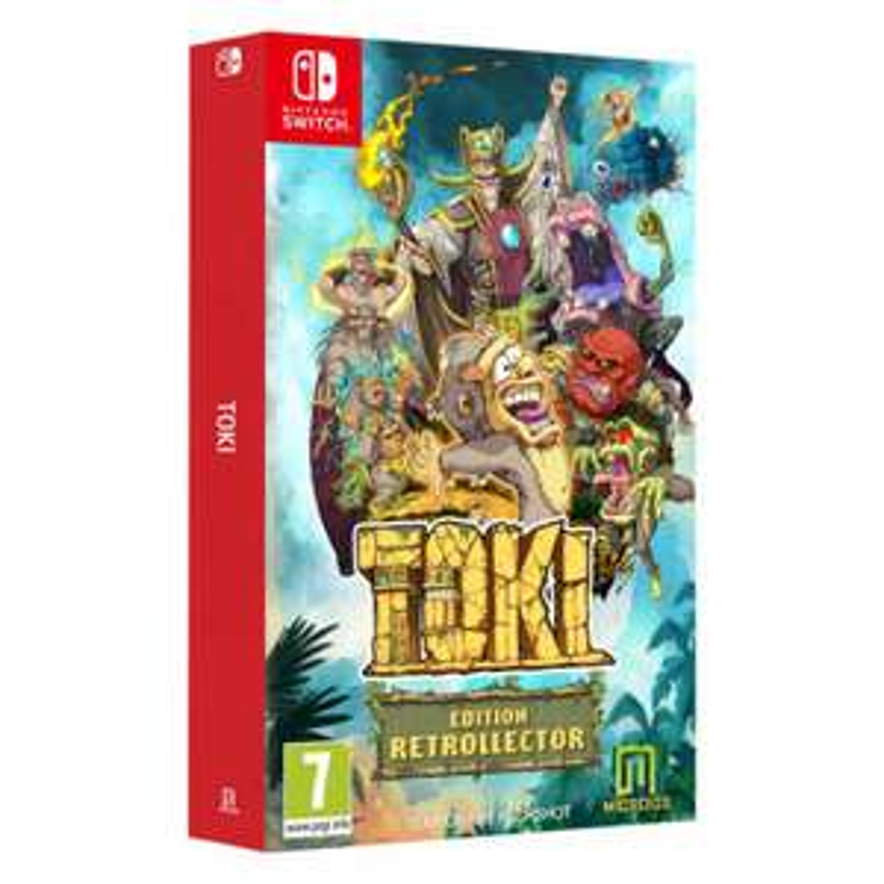 Toki Edition Rétrollector sur Nintendo Switch (en magasin)