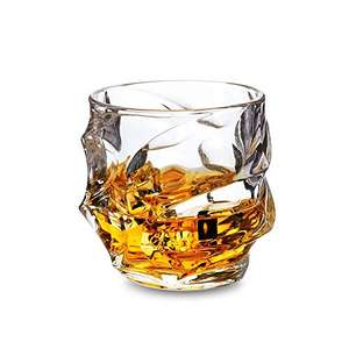 Lot de 4 verres à Whisky Kanars Everest - 320 ML, Transparent (Vendeur tiers)