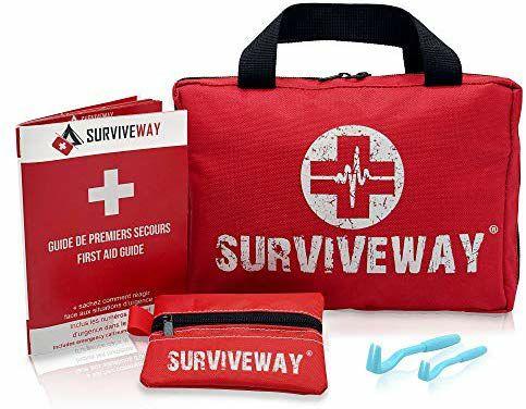 Trousse de premiers secours Surviveway (Vendeur tiers - Expédiée par Amazon)