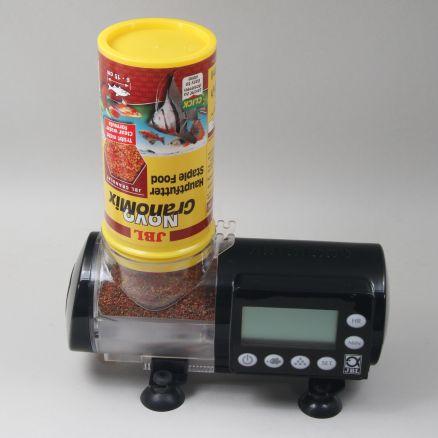 Distributeur automatique de nourriture Jbl Autofood Black + Jbl Novogranomix 250 Ml
