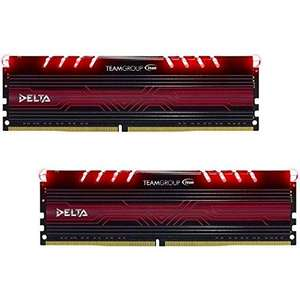 Kit Mémoire RAM Team Group Delta Series 16 Go (2 x 8 Go) - DDR4, 2400Mhz