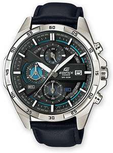 Montre Casio Chronographe Quartz EFR-556L-1AVUEF - Bracelet en Cuir, 10 bars