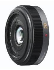 Objectif Panasonic Lumix G II 20mm F/1.7 - Noir