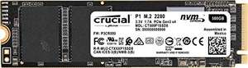 SSD interne M.2 NVMe Crucial P1 (QLC 3D) - 500 Go