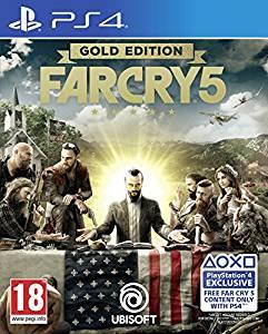 Far Cry 5 Gold Edition sur PS4 (en Anglais)