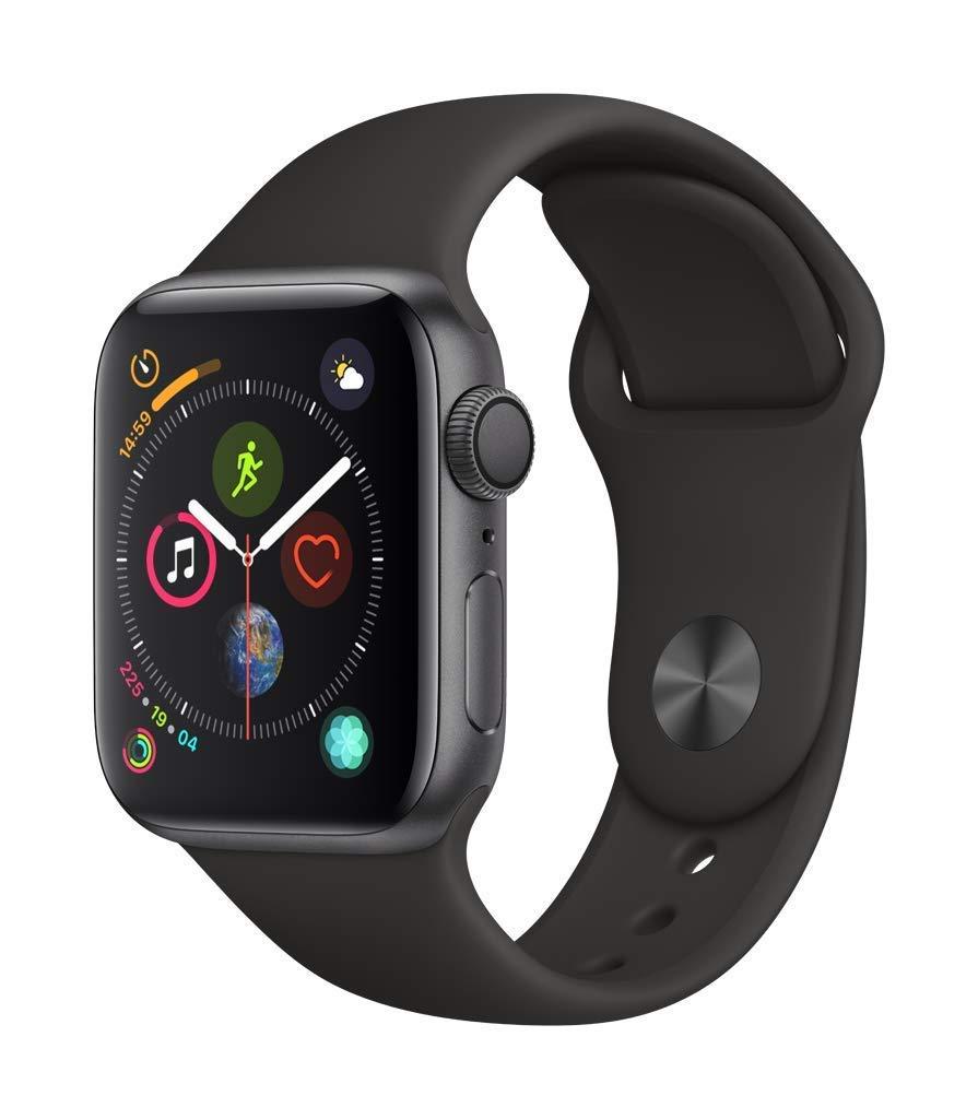 Montre connectée Apple Watch Series 4 (GPS) - Gris sidéral, Boitier de 40mm