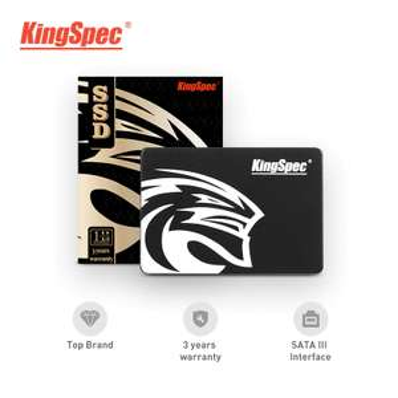 "SSD interne 2.5"" KingSpec - 2 To"